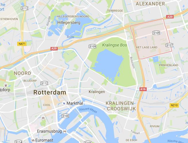 Rotterdam Het Lage Land Area